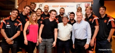 Valencia College Students, with teachers Steve and Richard and the Flamengo team