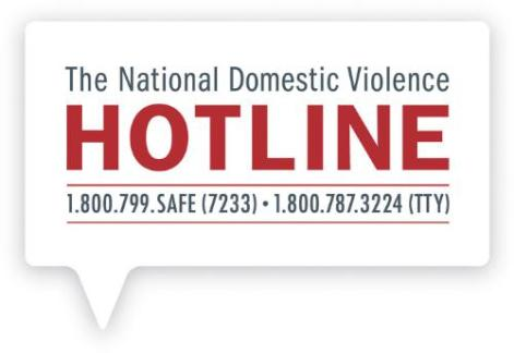 THE NATIONAL DOMESTIC VIOLENCE HOTLINE LOGO