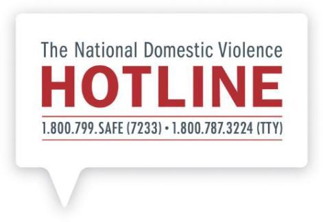 THE NATIONAL DOMESTIC VIOLENCE HOTLINE LOGO