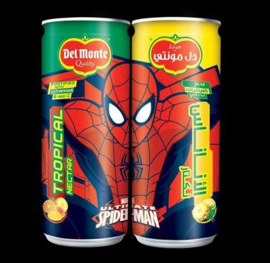 Del Monte Launches New Minnie Mouse and Spiderman Branded Kids Nectars