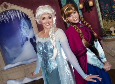 Disneyland Resort 'Frozen Fun' Anna and Elsa