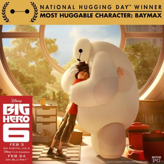 Walt Disney Studios Baymax Huggable Award