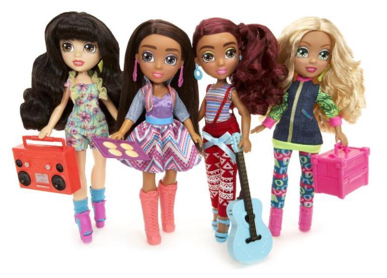 MGA Entertainment Vi and Va Dolls