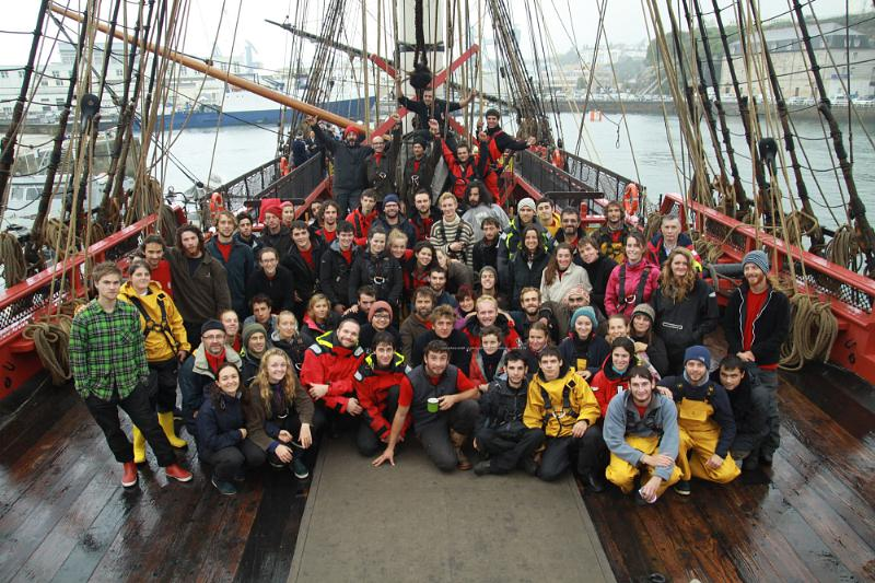 The Friends of Hermione-Lafayett Crew