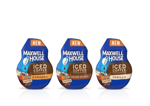 Maxwell House Iced Coffee Concentrate Flavors