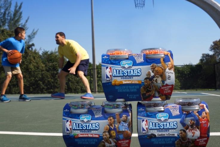 Alpina NBA All-Stars Yogurt