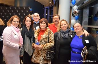 Lis Sommerville, Eraldo Manes, Dan Peele, Marilda Peele, Jessica Otero, Maida Manes, Laiz Rodrigues.