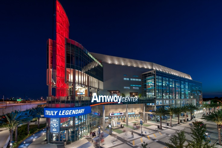 Amway Center Exterior