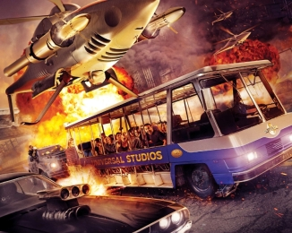 Universal Studios Hollywood Fast and Furious Supercharged