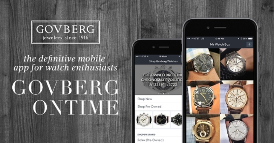 GovbergOnTime mobile app
