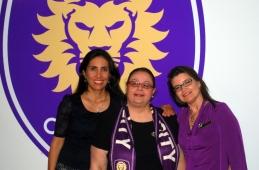 Monica Correa Bright House Networks, Laiz Rodrigues and Andrea Almeida