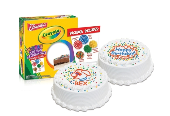 Friendly's Ice Cream LLC Crayola cakes
