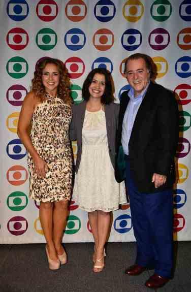 Daniela Mercury, Mila Burns e Tony Ramos
