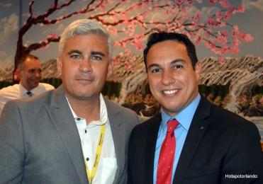 Marcelo Silva (BBAmericas) e BB Americas Miami Branch Manager