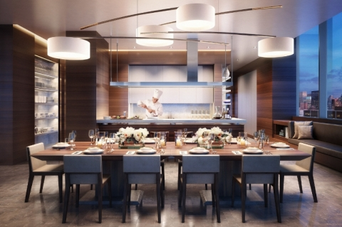 One West End Amenity Kitchen
