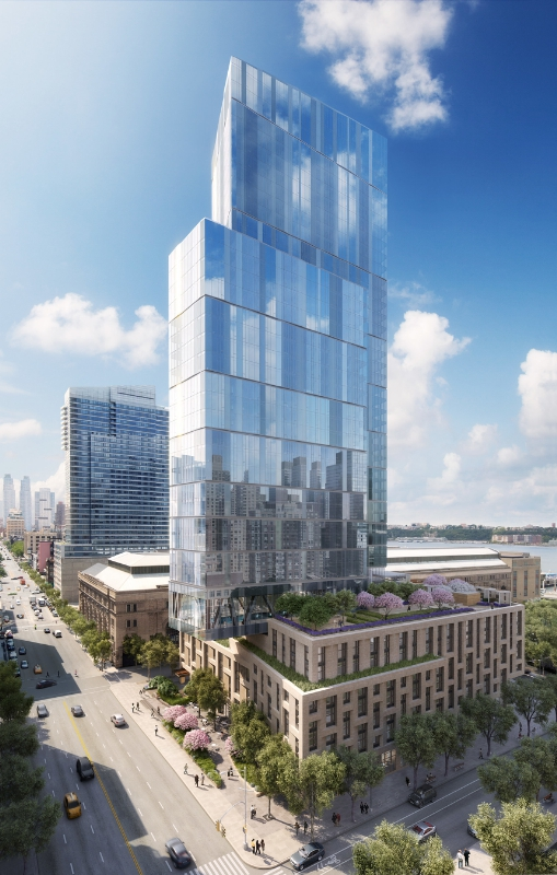 One West End Exterior (PRNewsFoto/Elad Group and Silverstein Prope)