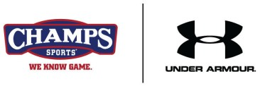 Champs Sports and Under ArmourLOGO