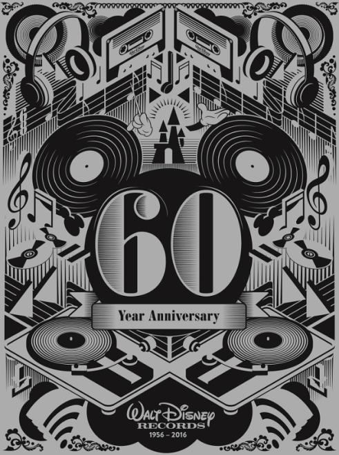 Walt Disney Records 60th
