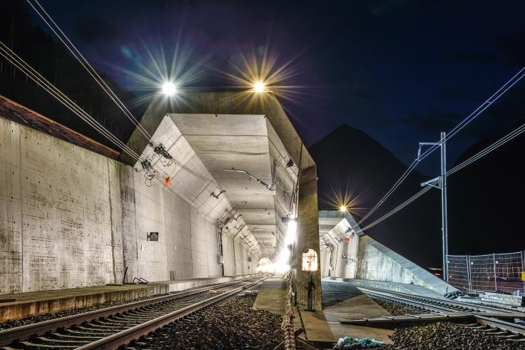 North Portal Erstfeld Gotthard Base Tunnel / Nordportal Erstfeld