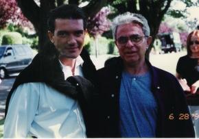 Antonio Banderas e Phydias Barbosa no Canadá.